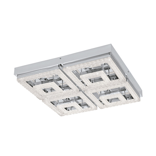 FRADELO CTC 48W LED WW CHROME & CRYSTAL