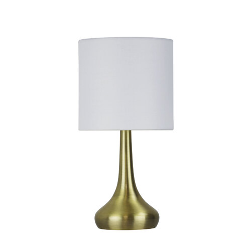 LOLA TOUCH LAMP ANTIQUE BRASS