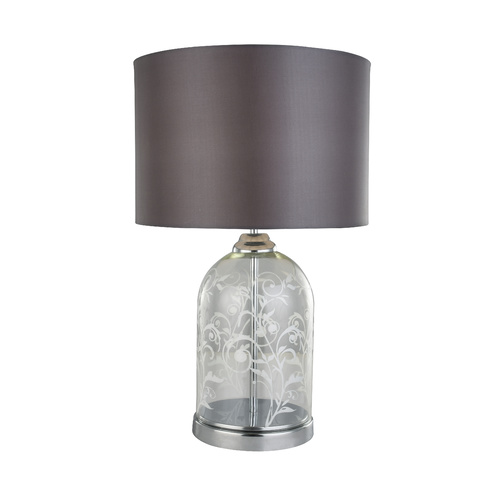 Lerato Patterned Etched Glass Table Lamp
