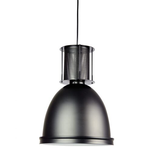 BAY 28 INDUSTRIAL SINGLE PENDANT BLACK