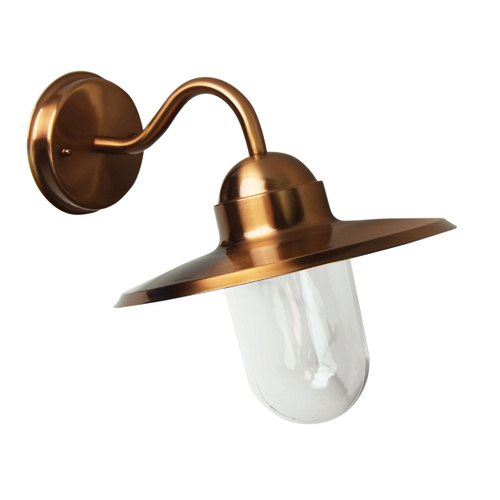 ALLEY OUTDOOR WALL LIGHT COPPER FINISH