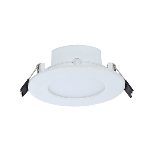 (Clearance Feb 2020 sold in QTY 20 only) D/L LED FIXED WH RND 5000K 3W P/C 70mm IP20 160D ICF (200 Lumens) WTY 1YR